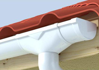 монтаж отливов для крыши