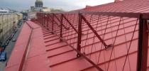 Как устанавливать снегозадержатели на разные виды крыш