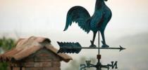 Как сделать флюгер на крышу своими силами из подручных средств
