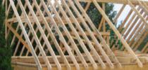 Как рассчитать и установить стропильную систему двухскатной крыши