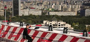 Киевляне обживают крыши столичных высотных зданий