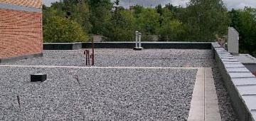 Конструктивные особенности плоских крыш