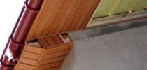 Как профессионально подшить свес крыши