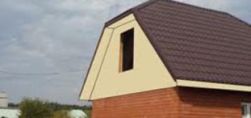 Основные составляющие элементы четырехскатной крыши