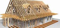 Основные составляющие двухскатной крыши