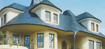Особенности устройства крыши из сланца