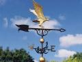 Флюгер птица