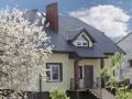 Красивая ломаная крыша из профнастила