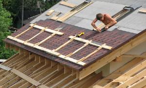 уход за односкатной крышей