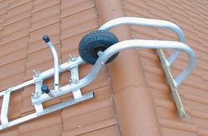 Крюк наверху лестницы