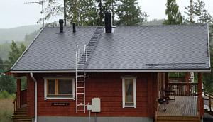 виды лестниц для крыши