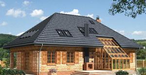 Разметка вальмовой крыши