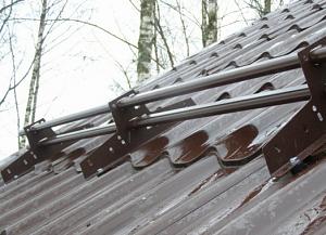 Снегозадержатель трубчатый