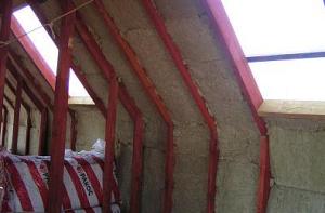 Утепление четырехскатной крыши