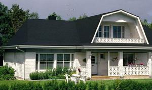 Виды крыш загородных домов