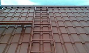 как расчитать лестницу на крышу