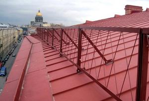 Как и из чего сделать снегозадержание на крыше 2