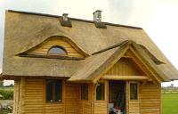 фото крыш деревянных домов