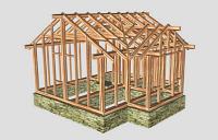 Стропильная система крыши с ендовой