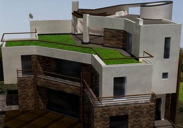 инверсионная крыша