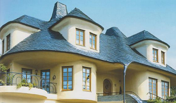 крыша из сланца