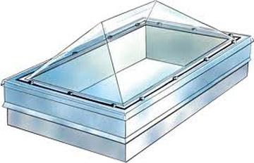 особенности устройства светопрозрачных крыш