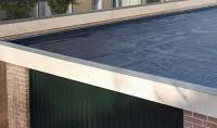 чем покрыть бетонную крышу гаража