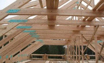 деревянная система стропил