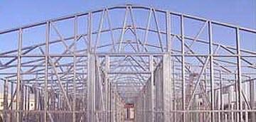 стропильная ферма из металла
