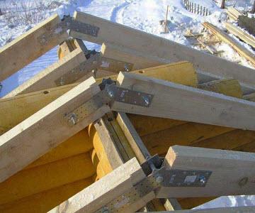 скользящая опора стропильной системы крыши