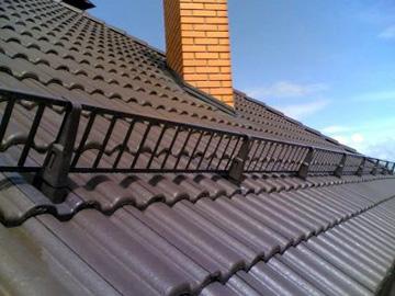 габариты ограждений на крышу
